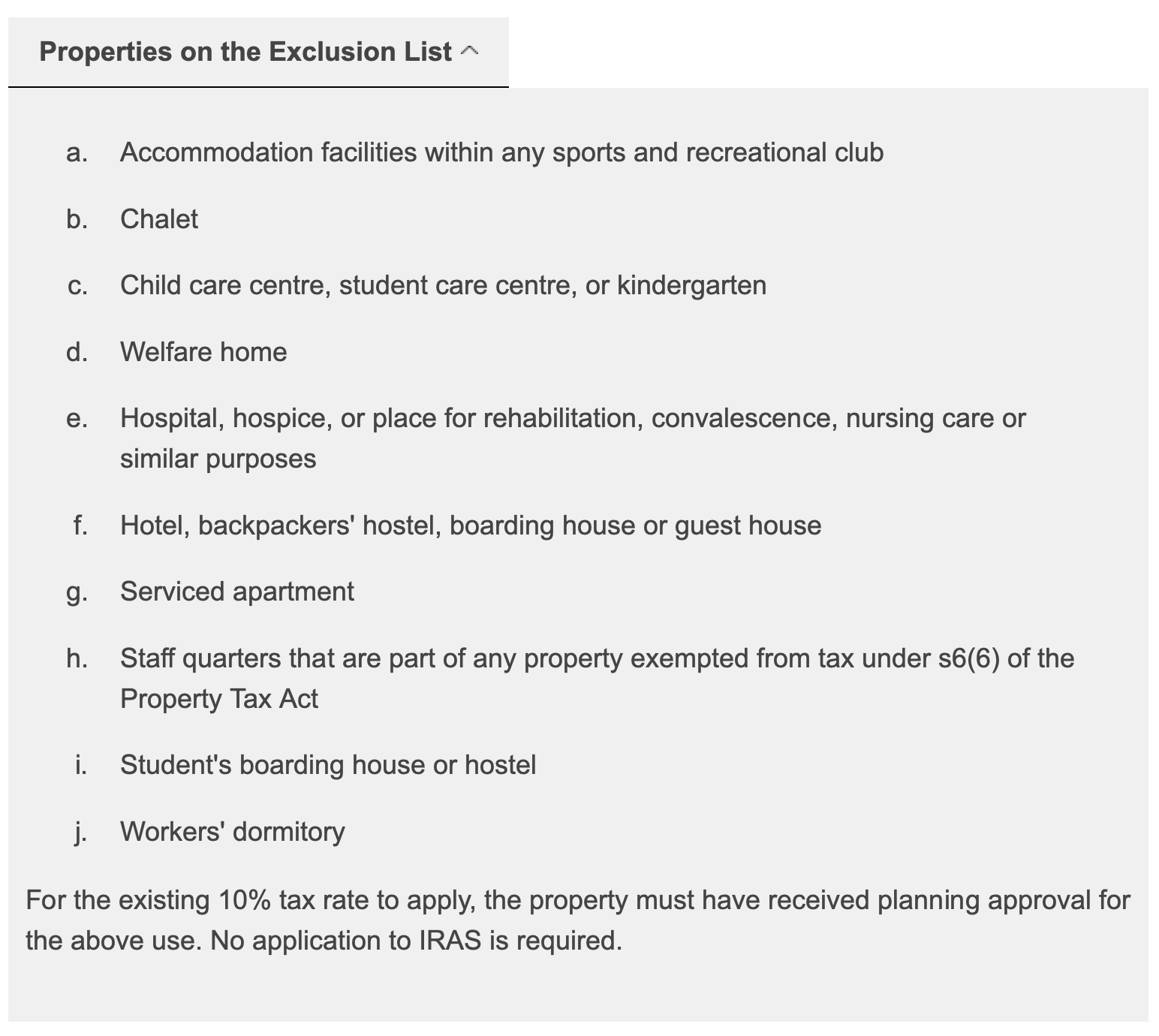 exclusion-list