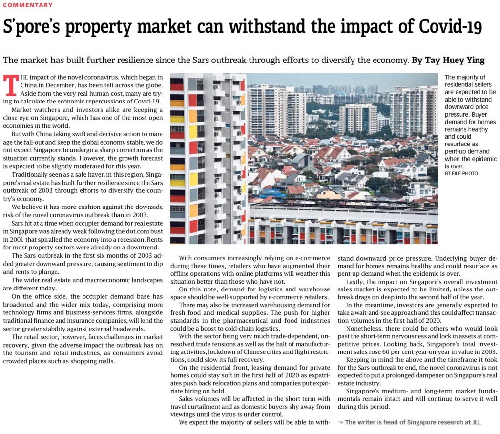 2020-02-15 BT Spore property market can withstand the impact of Covid-19