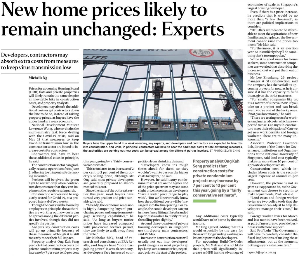 2020-05-26-ST-New-home-prices-likely-to-remain-unchanged